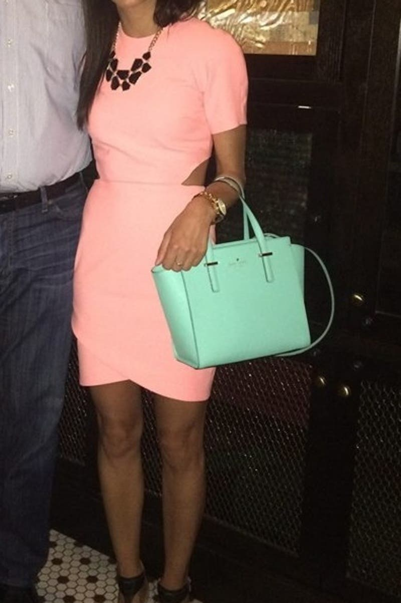 Blue Cedar Street Small Hayden Bag By Kate Spade New York Pink Accessories For 104 Rent The Runway