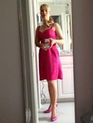 Pinch Of Pink Flare Dress By Z Spoke Zac Posen For 49