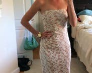 Ivory Dianthus Gown By Badgley Mischka For 133 Rent The