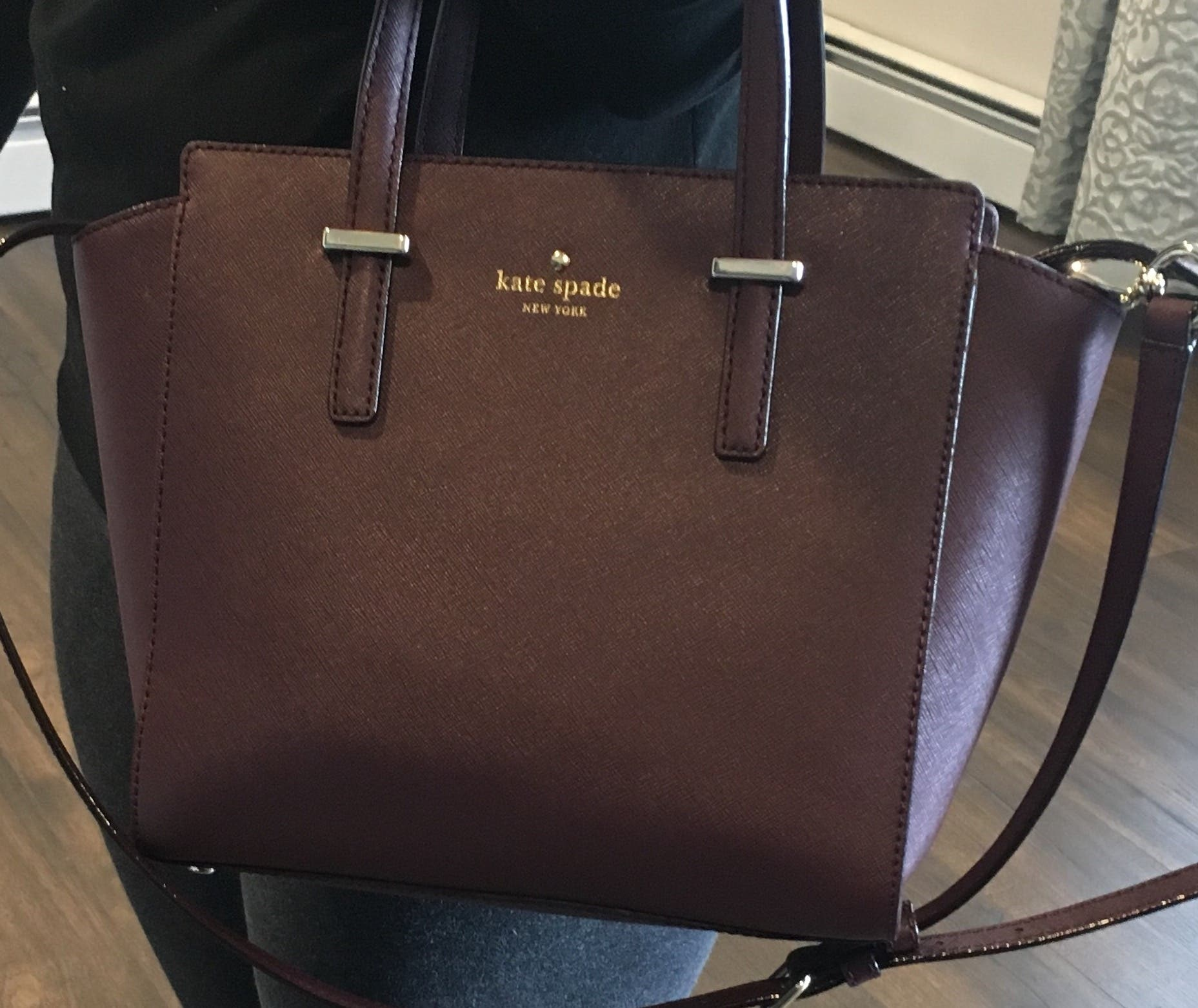 Mulled Wine Hayden Bag By Kate Spade New York Accessories For 35 The Runway