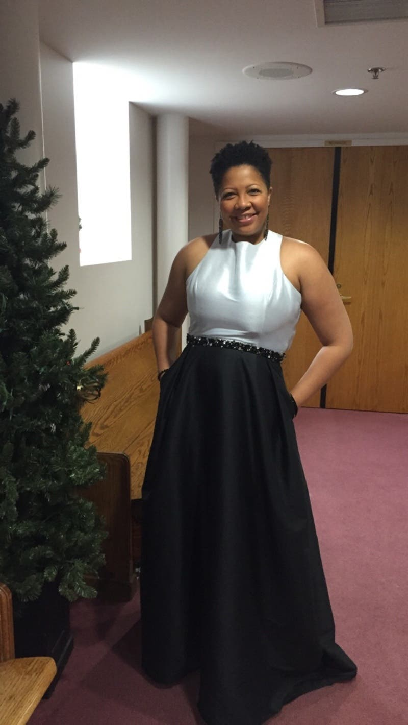 Rent Jadore Contrast Gown from ML Monique Lhuillier - 435238 ...