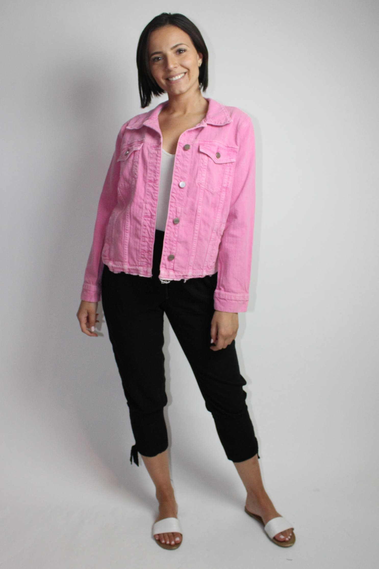 Wild Cherry Denim Jacket by Sanctuary for $30 | Rent the Runway