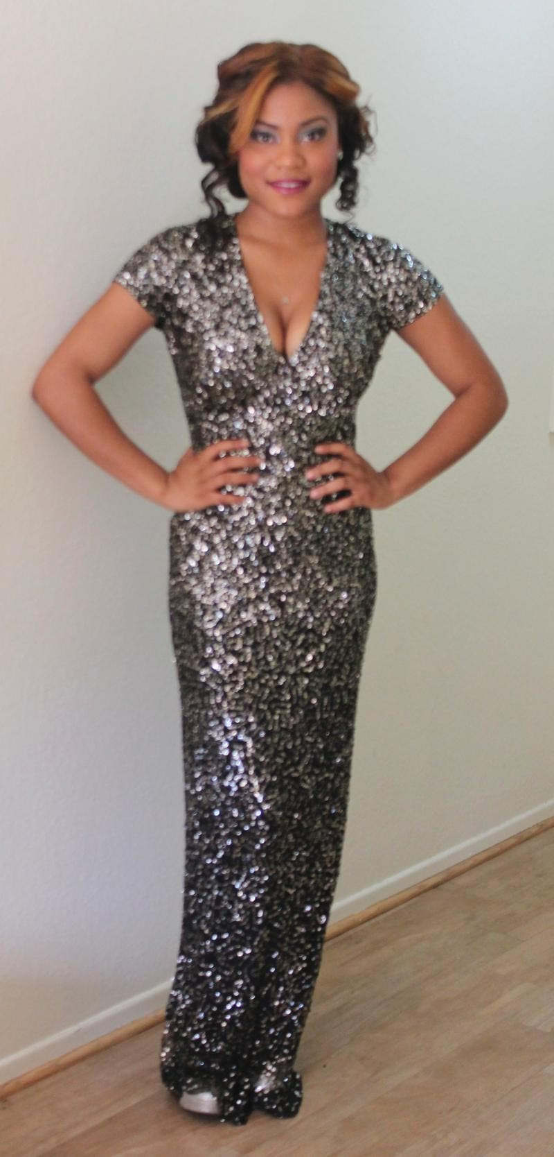 Rent Midnight Sequin Stars Gown from Nicole Miller - 294728 | Rent ...