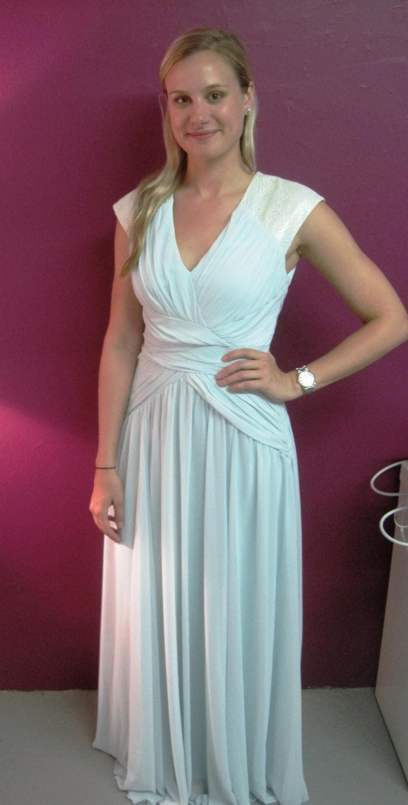 Rent Mint Dream Gown from Badgley Mischka - 283458 | Rent the Runway