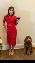 Red Leona Dress By Alexis For 80 Rent The Runway