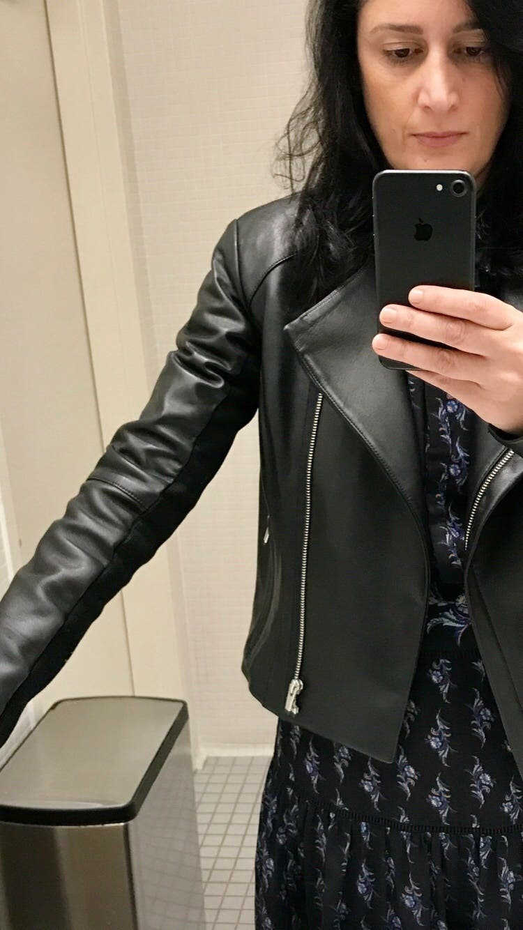 Black Dali Leather Jacket By Veda For 160 Rent The Runway Courtney Blazer