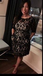 Sara Boo Black Lace Gothic Romantic Victorian Overlay