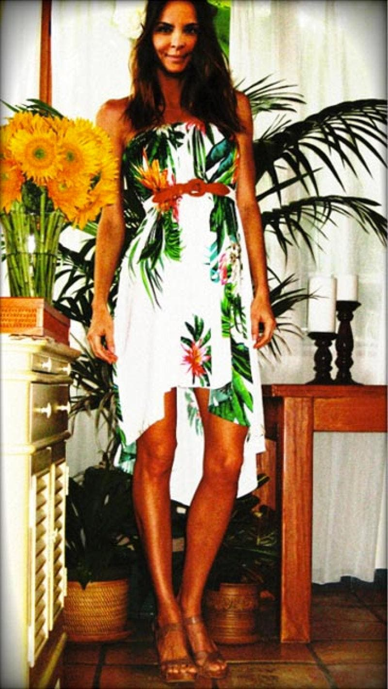 Under the Hawaiian Palms Dress by MSGM for $97 | Rent the Runway