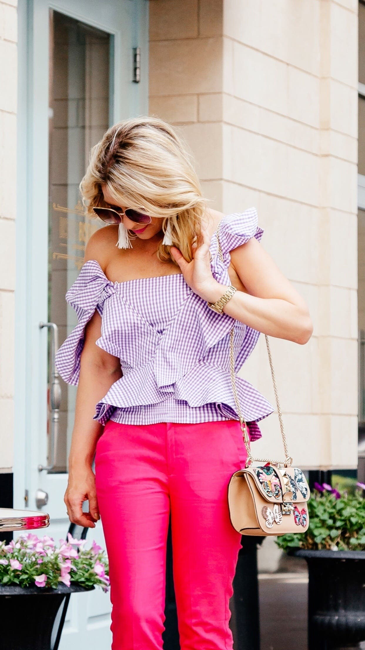 lavender tate toppetersyn for $40   rent the runway