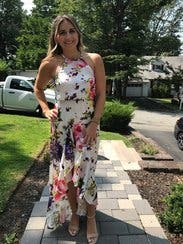 White Floral Maxi Dress By Jay Godfrey For 55 85
