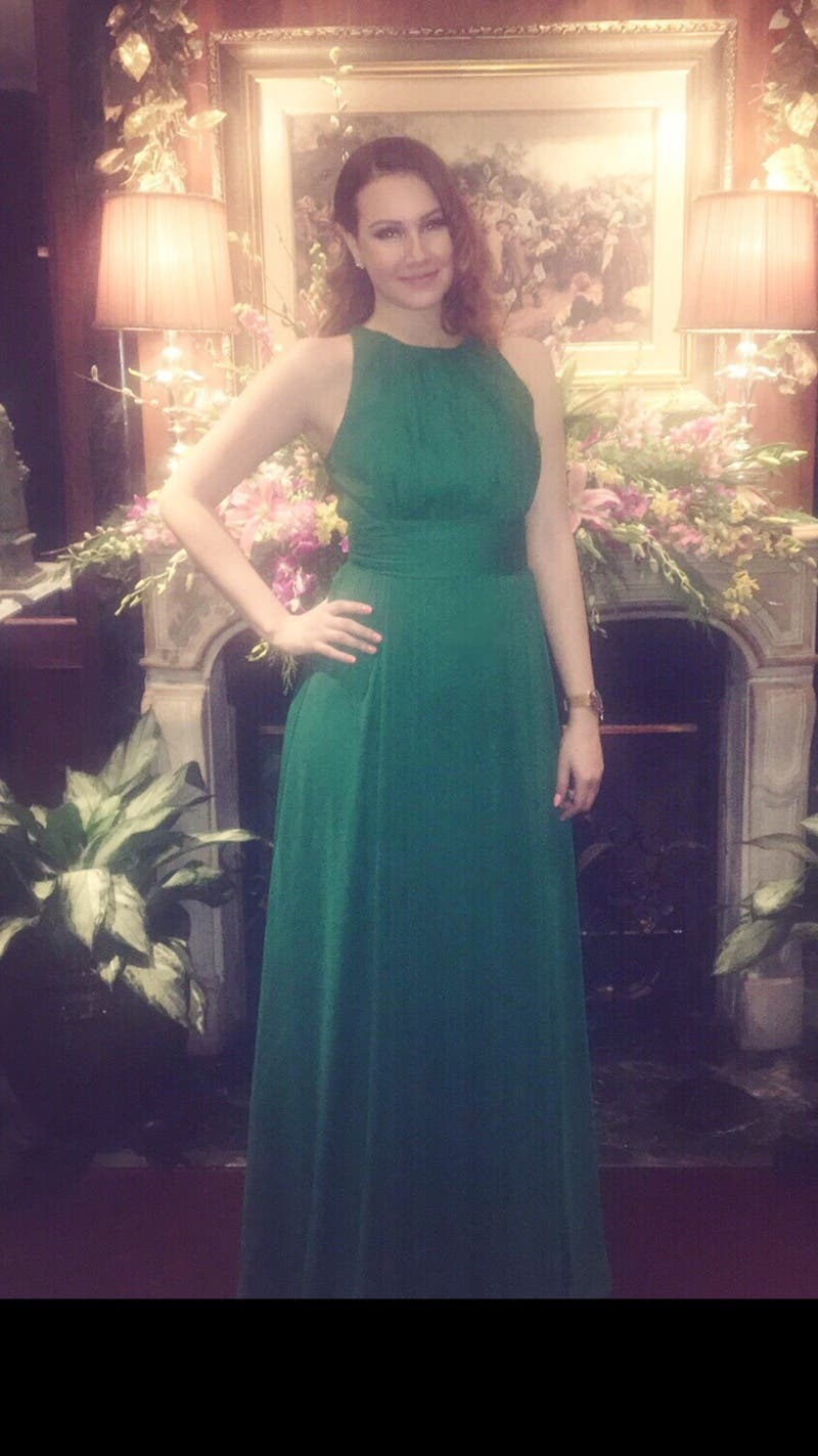 Exelent Badgley Mischka Fluorite Emerald Gala Gown Model - Wedding ...