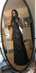 Navy Romantic Ride Gown by LM Collection for $70 - $80