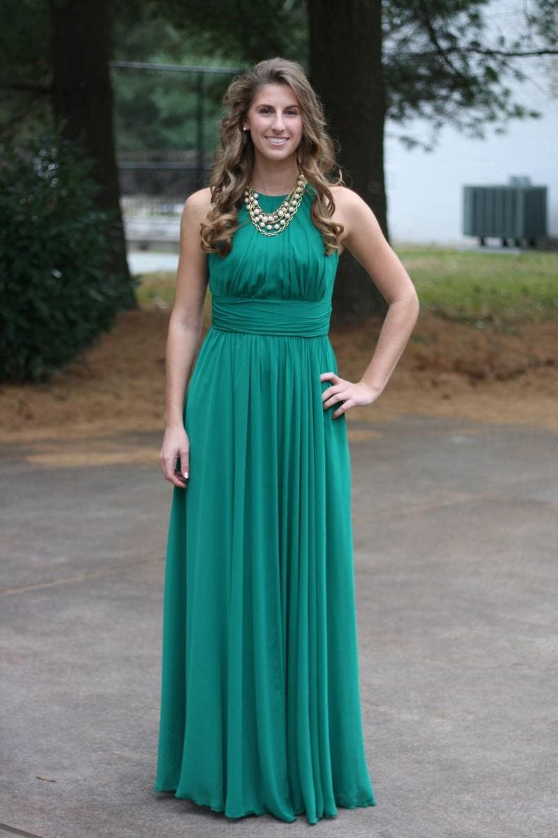 Rent Fluorite Emerald Gala Gown from Badgley Mischka - 231554 | Rent ...